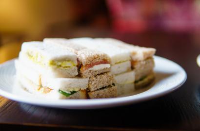 Delicious fresh sandwiches