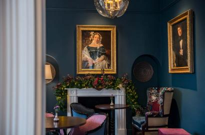 Three Church Road - Bistro Interior
