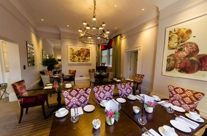 A la carte dining in our restaurant